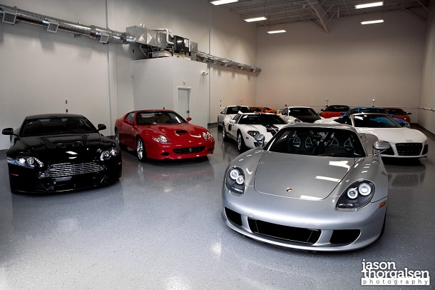 Private Supercar Collection in Connecticut