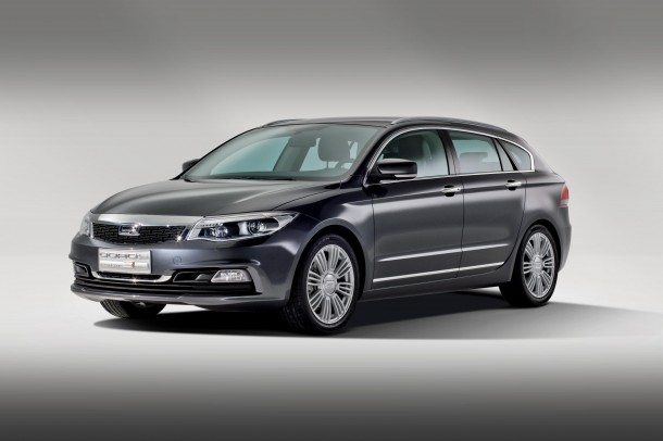 Qoros 3 Estate Concept
