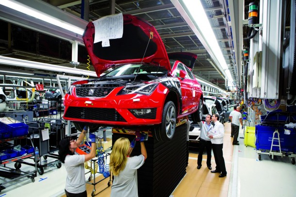 SEAT Martorell celebrates 20th anniversary (6)