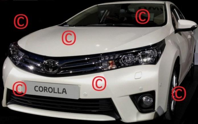 Toyota Corolla 2014 Leaked (1)
