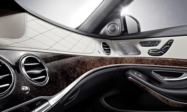 new Mercedes S-Class interior
