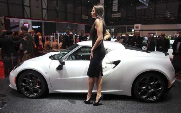 Alfa Romeo 4C Launch Edition Live in Geneva 2013 (9)