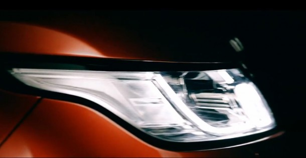 An early glimpse of the All-New Range Rover Sport