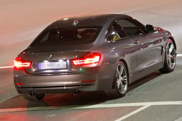 BMW 4-Series Coupe spy photo (2)