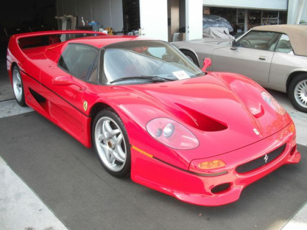 Ferrari F50 Crashed by the FBI For Sale (1)