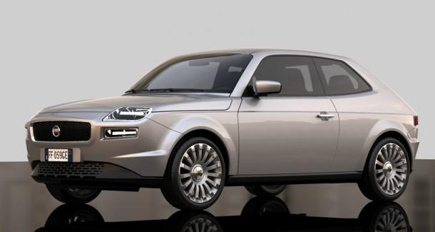 Fiat 127 Concept Study by David Obendorfer