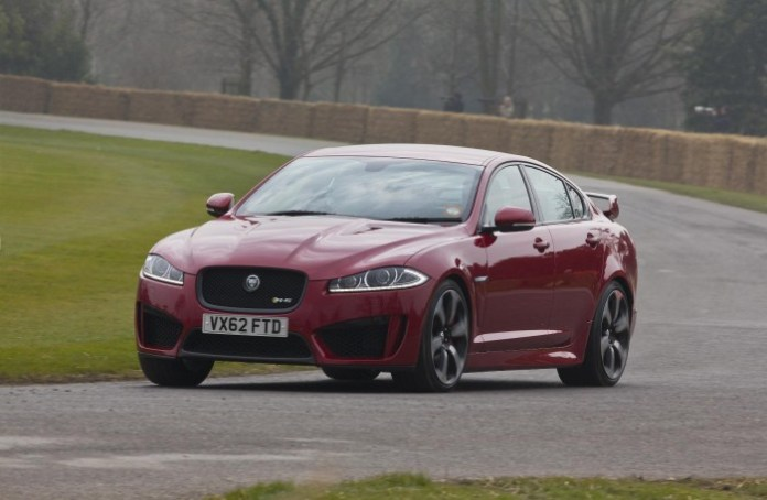Jaguar XFR-S makes its debut at Goodwood (1)