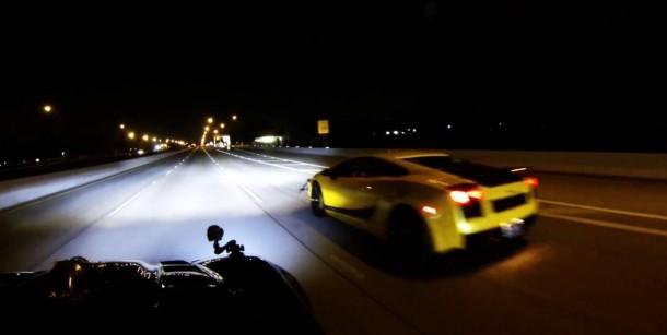 Lamborghini Gallardo 1500hp Vs Chevrolet Corvette 1700hp