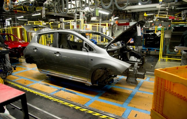 Making of the Nissan Leaf (13)