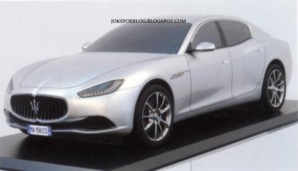 Maserati Ghibli design mockup leaked (2)