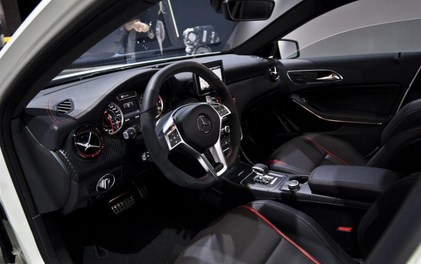 Mercedes A45 AMG Edition 1 Live in Geneva 2013 (17)