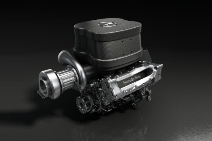 Mercedes-Benz Turbo V6 F1 Engine