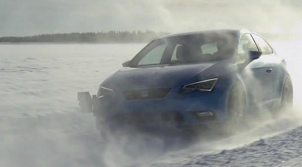 SEAT Showcases Leon SC Extreme Winter Testing