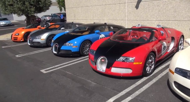 The World's CRAZIEST Cars- Bugattis, Paganis, Ferraris, Lamborghinis, Etc.-Carmel Car Week 2012!!!