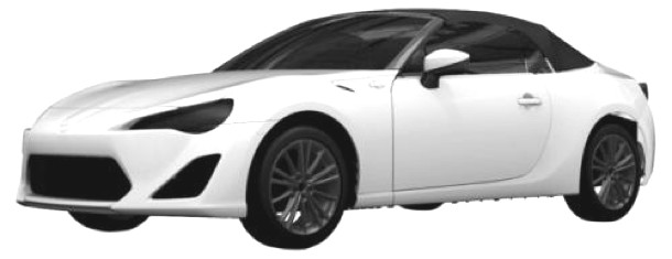 Toyota FT-86 Open concept revealed with its roof up