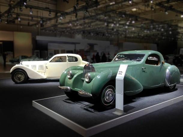 1937 Bugatti T57 Ventoux and 1939 Bugatti T57C Atalant