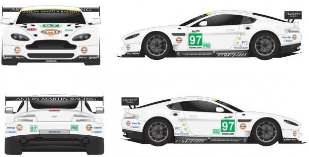 97 Aston Martin Vantage GTE Aston Martin