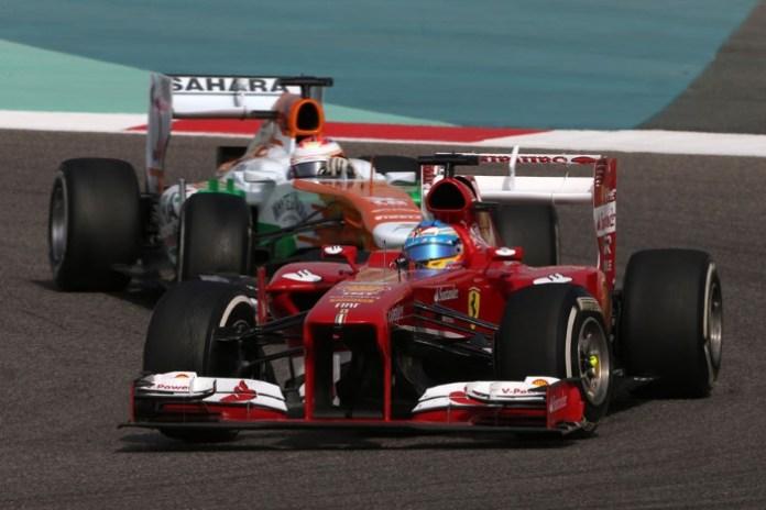 Alonso Bahrain DRS