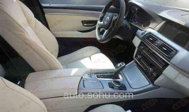 BMW 5-Series facelift interior
