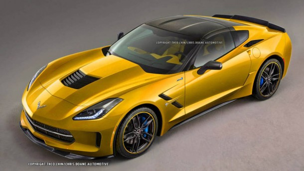 Chevrolet Corvette ZR1 rendering (1)