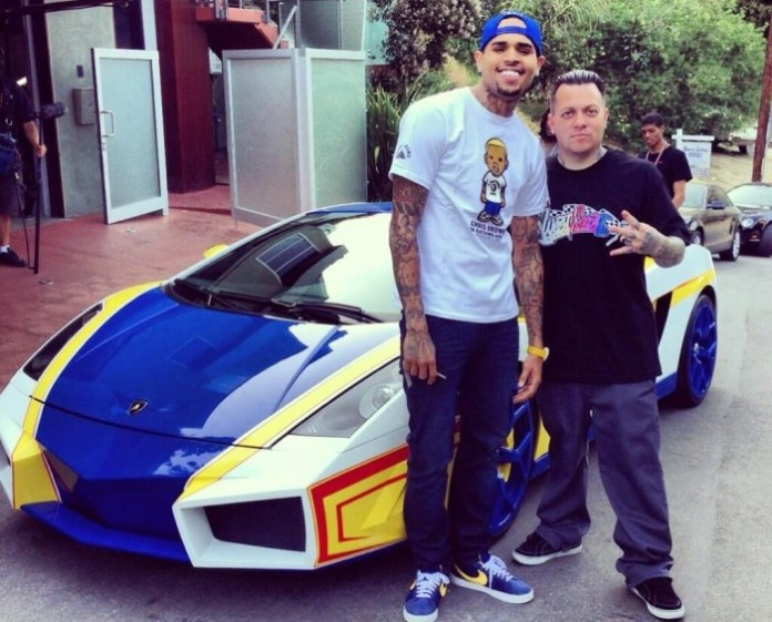 Chris Brown Lamborghini Gallardo Hot Wheels (6)