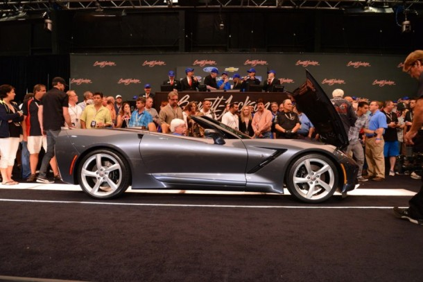 First 2014 Chevrolet Corvette Stingray Convertible Sells for $1 Million (3)