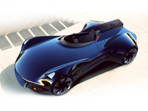 Jaguar XK-1 Concept Study (1)
