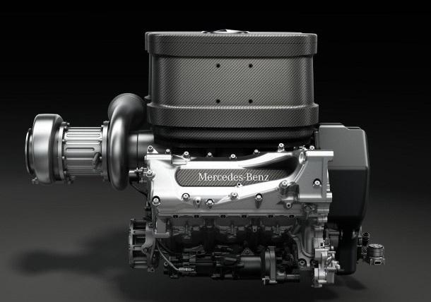 Mercedes AMG F1 Turbo V6 Engine