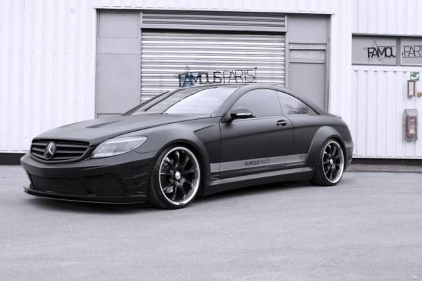 Mercedes CL 500 Black Matte Edition by Famous Parts (1)