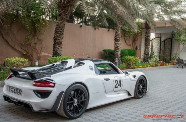 Porsche 918 Spyder in Saudi Arabia (8)