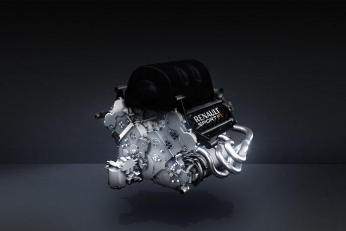 Renualt Turbo F1 V6 Engine