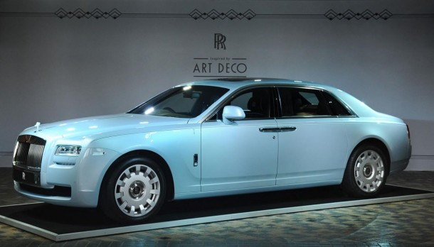 Rolls-Royce Ghost Extended Wheelbase Art Deco Edition (1)