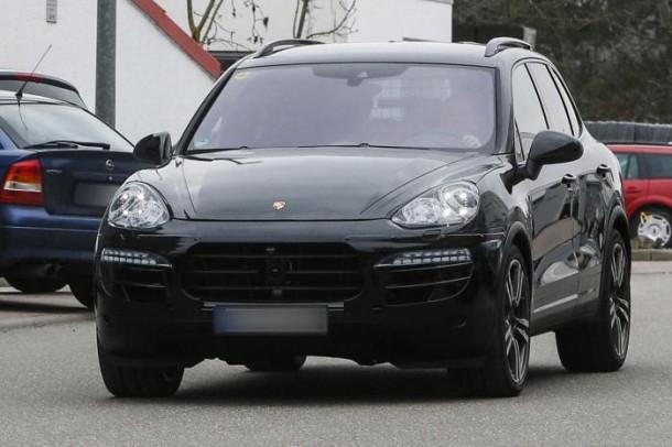 Spy Photos Porsche Cayenne facelift 2015 (2)