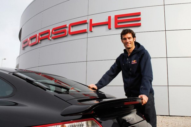 mark webber porsche