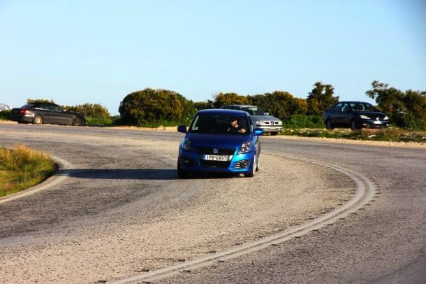 test drive: suzuki swift sport - 416