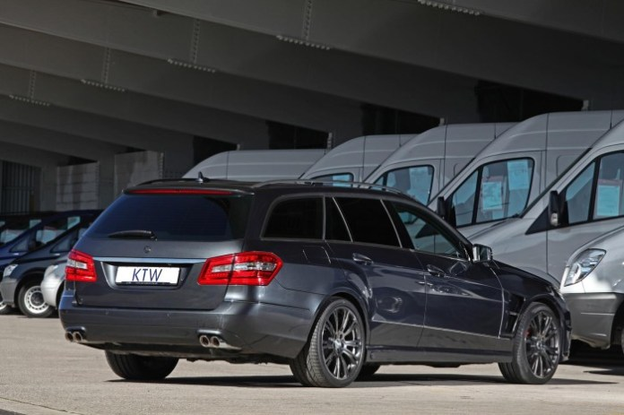 Mercedes-Benz E-Class Wagon pre-facelift by KTW Tuning
