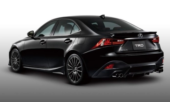 2014 Lexus IS with TRD accessories