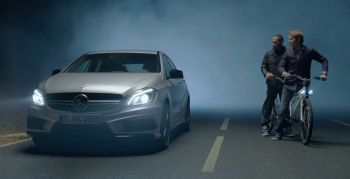 A 45 AMG TV Commercial Apparition