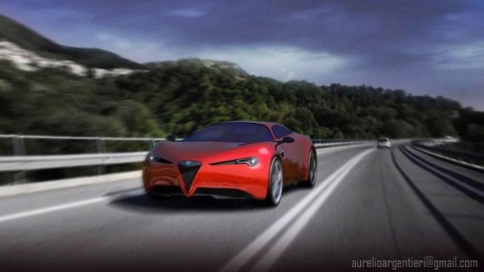 Alfa Romeo Stradale Concept Study
