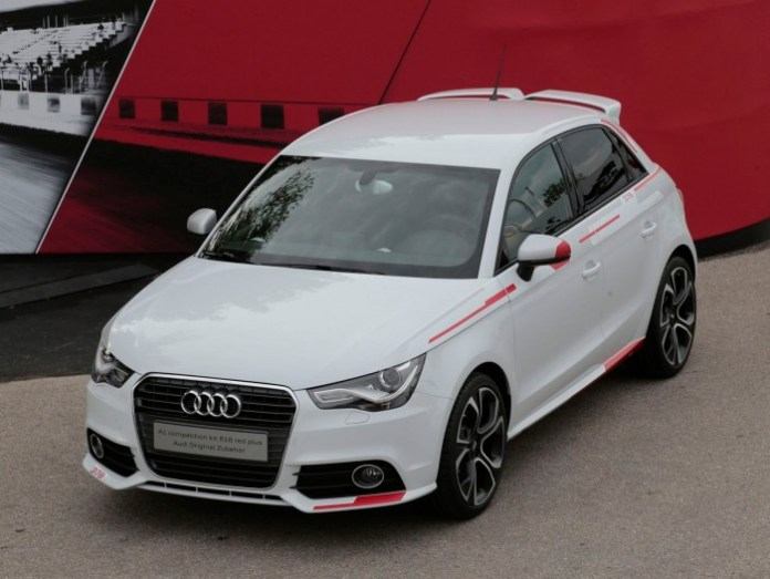 Audi A1 competition kit R18 red plus