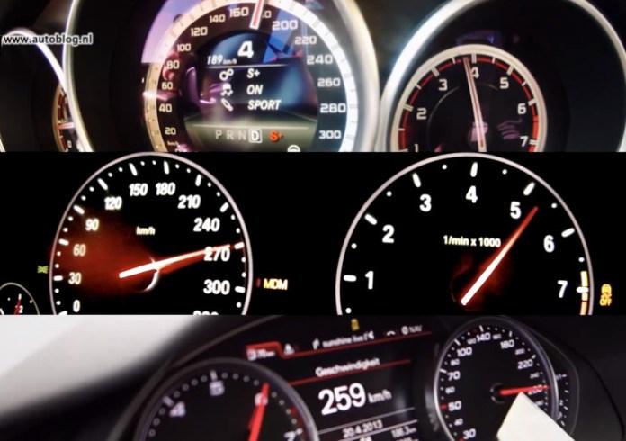 Audi RS6 vs BMW M5 vs Mercedes E63 S