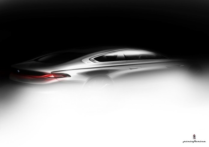 BMW Pininfarina Gran Lusso Coupe Teaser Photos (1)
