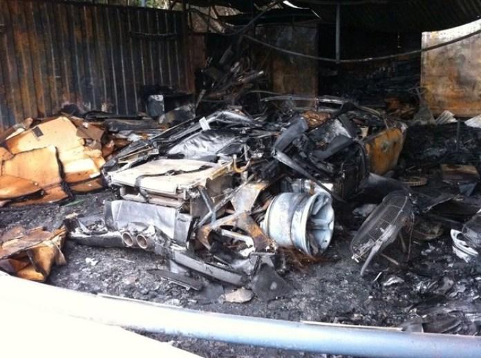 Lamborghini Murcielago Roadster crashed (1)