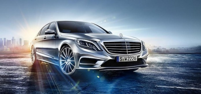 Mercedes S-Class 2014 leaked photo