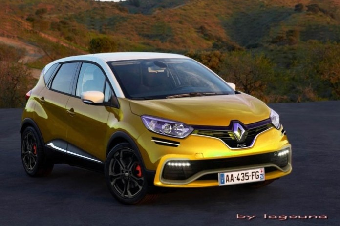 Renault Captur RS rendering