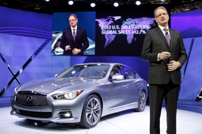 Infiniti at the 2013 North American International Auto Show