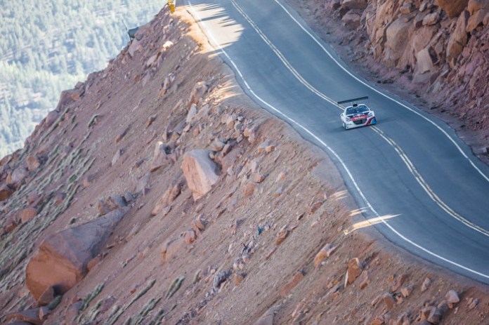 King of The Peak - Pikes Peak Climb Test 1 - 2013 (8-9 June)- Action
