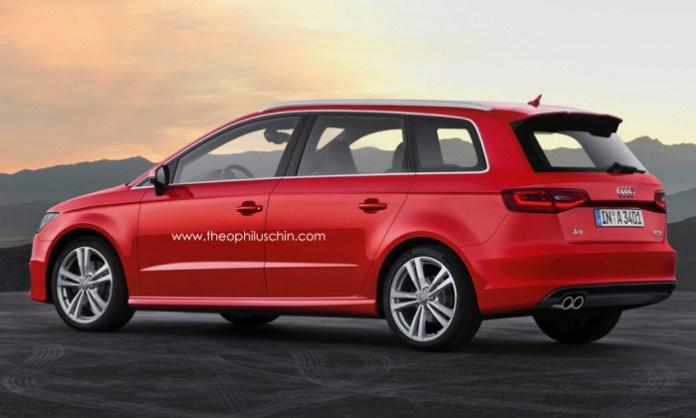 Audi A3 MPV Rendering (2)