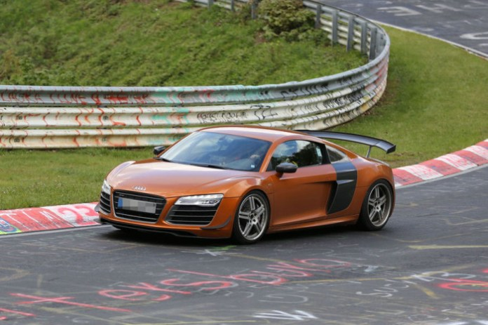 Audi R8 GT Spy Photos (2)