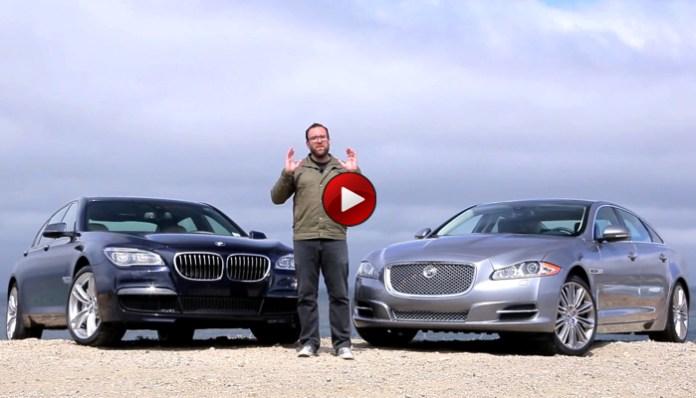 BMW 750Li Vs Jaguar XJL Supercharged
